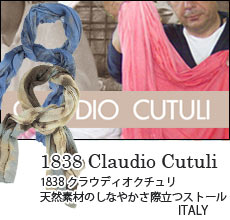 1838 Claudio Cutuli:クラウディオ クチューリ ストール