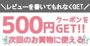 クーポン500円ゲット