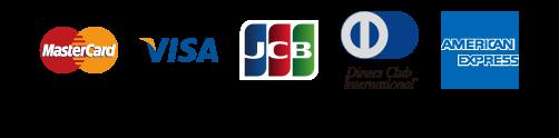 MasterCard/VISA/JCB/Diners/AMEX