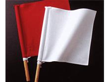 赤樫製審判旗セット