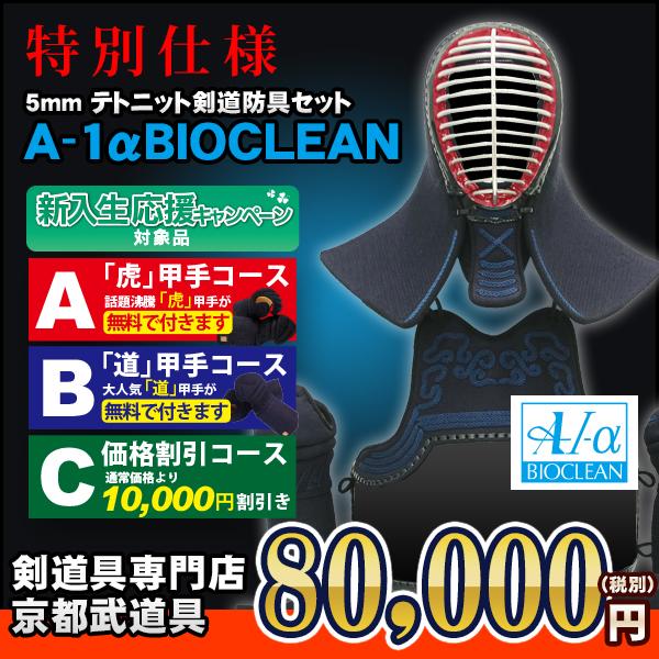 特別仕様A-1αバイオクリーン剣道防具セット