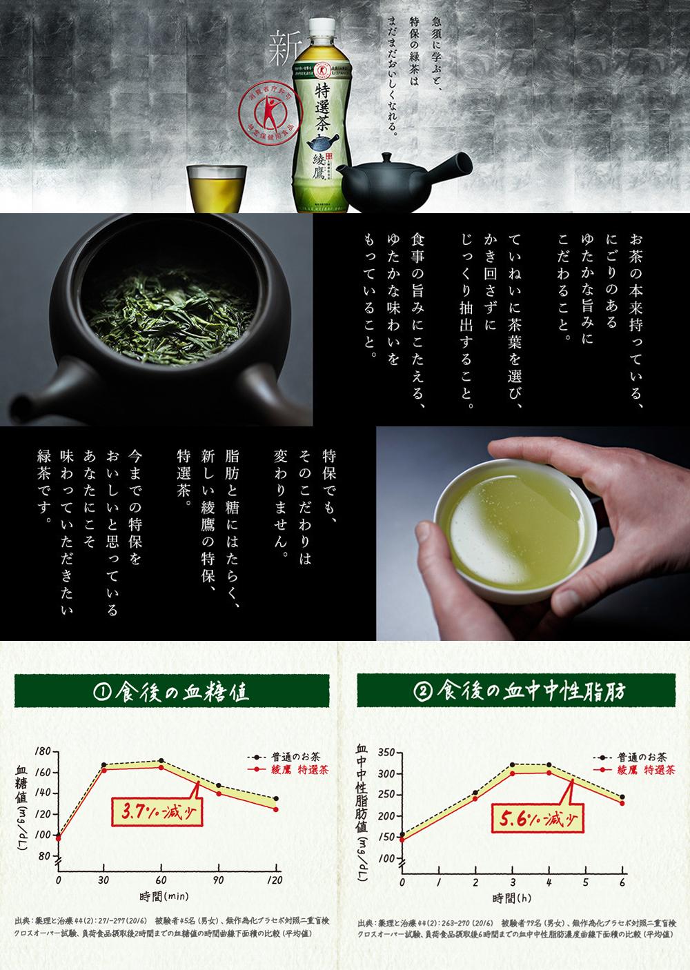 綾鷹 特選茶LP