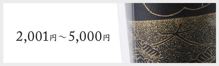 2,001円〜5,000円