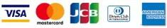 VISA/MASTER CARD/JCB/Diners/AMEX/
