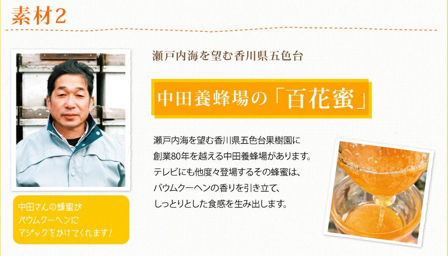 素材2:五色台、中田養蜂場の百花蜜