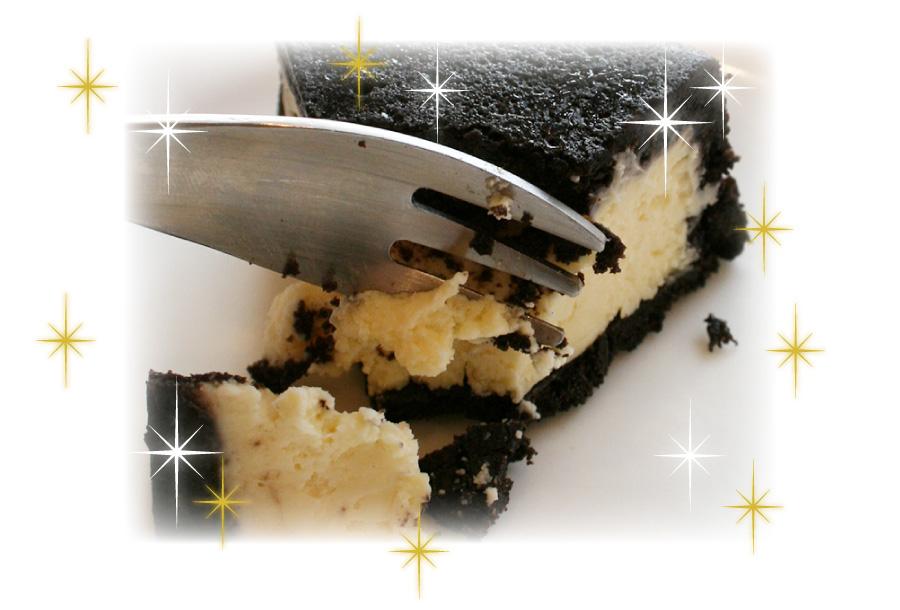 ブラックココアタルトがざっくりとした食感に仕上がりました