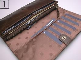 1番:長財布の詳細写真