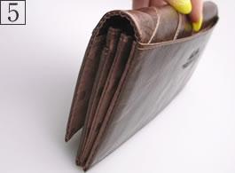 5番:長財布の詳細写真