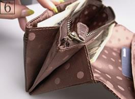 6番:長財布の詳細写真