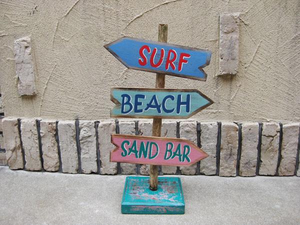 Lavieen Rakuten Global Market Hawaiian Surf Stand Sign