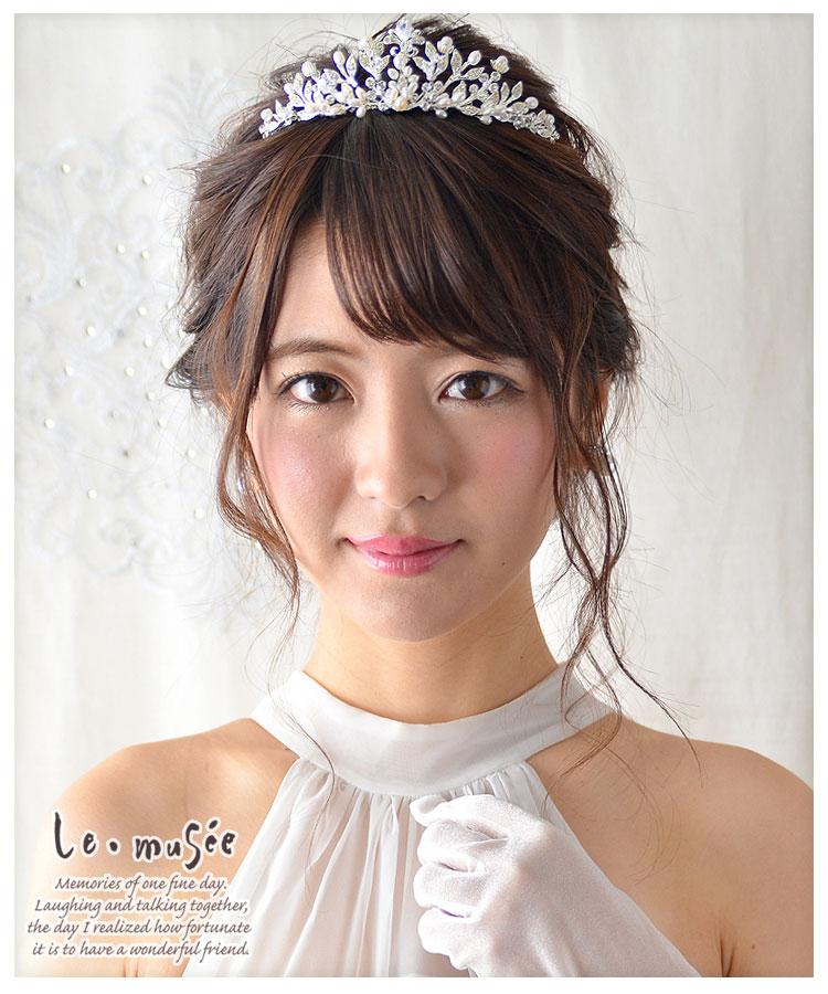 【ヘッドドレス】ティアラ シンフォニー
