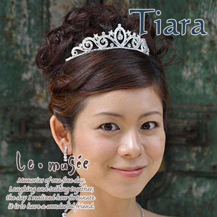 【ヘッドドレス(髪飾り)】 ティアラ スター&ストーン