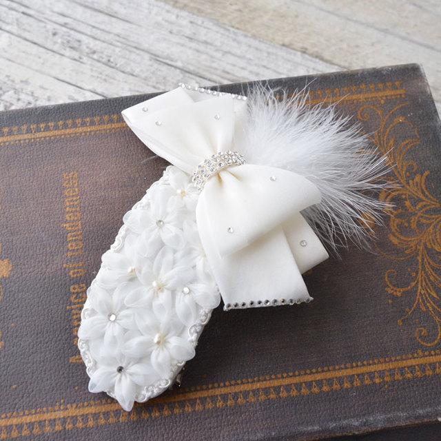 ヘッドドレス(髪飾り)【ボンネ】 プチ・バトー
