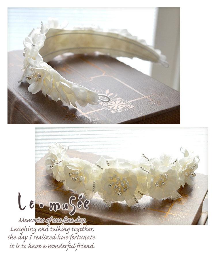 ヘッドドレス(髪飾り)【カチューシャ】 マーガレット