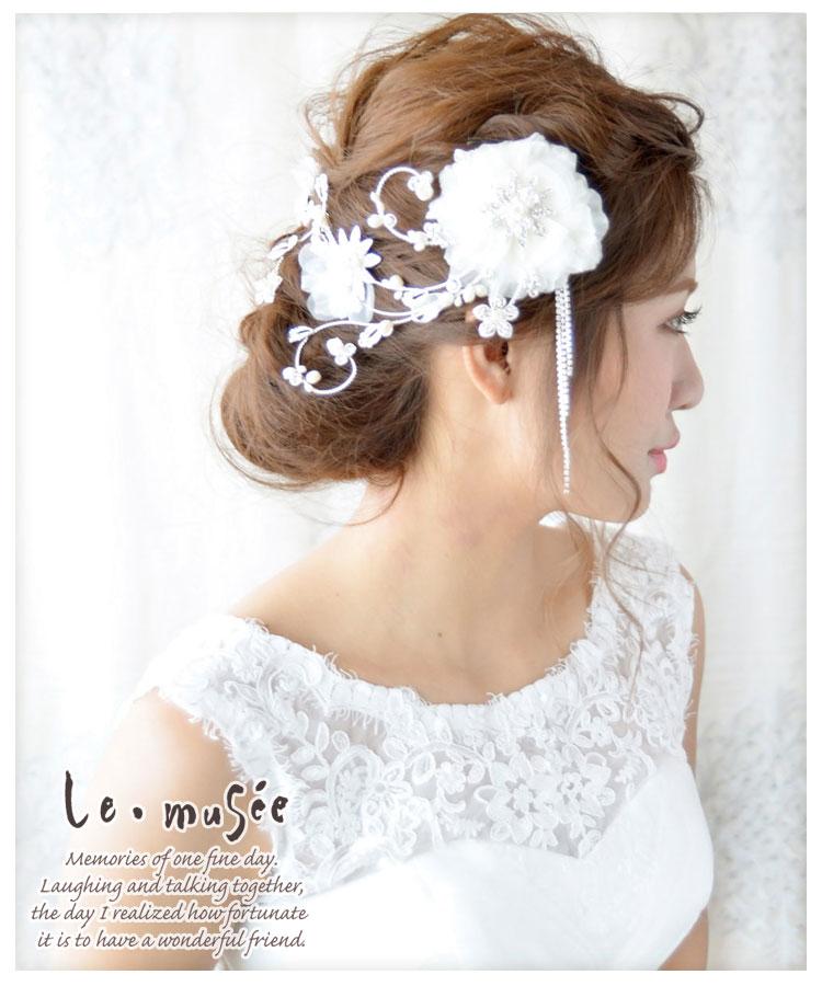 ヘッドドレス(髪飾り)【ヘッドアクセサリー】ベルティーユ