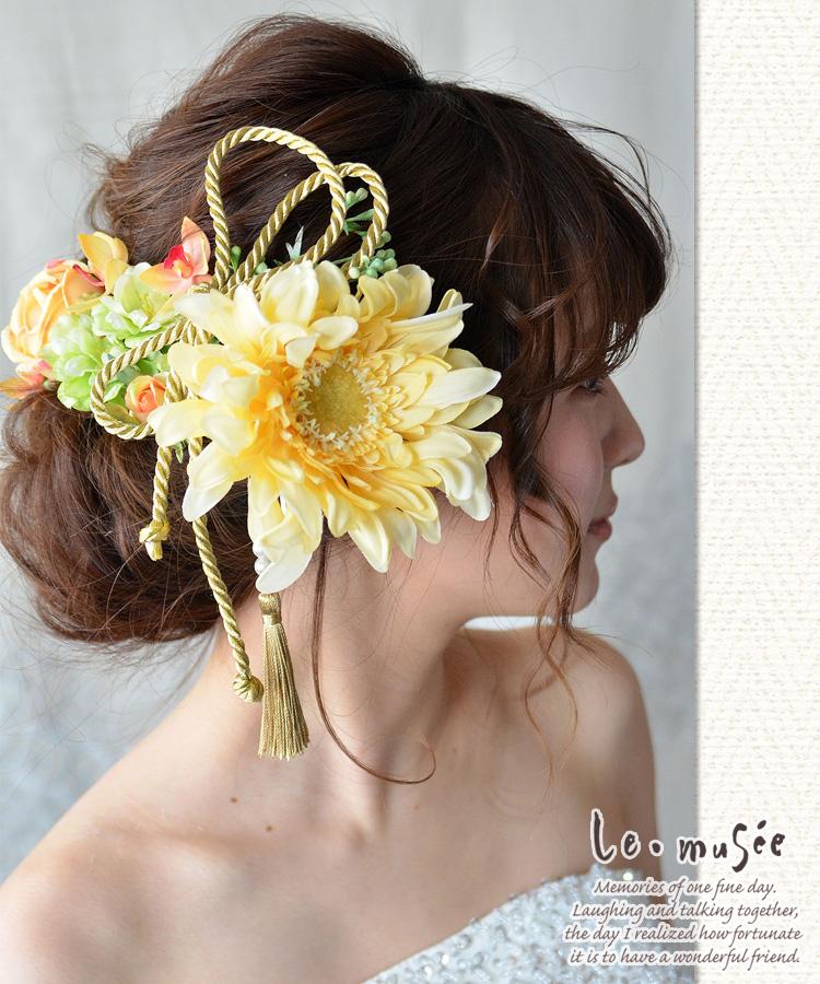 髪飾り【花】果樹・かじゅ
