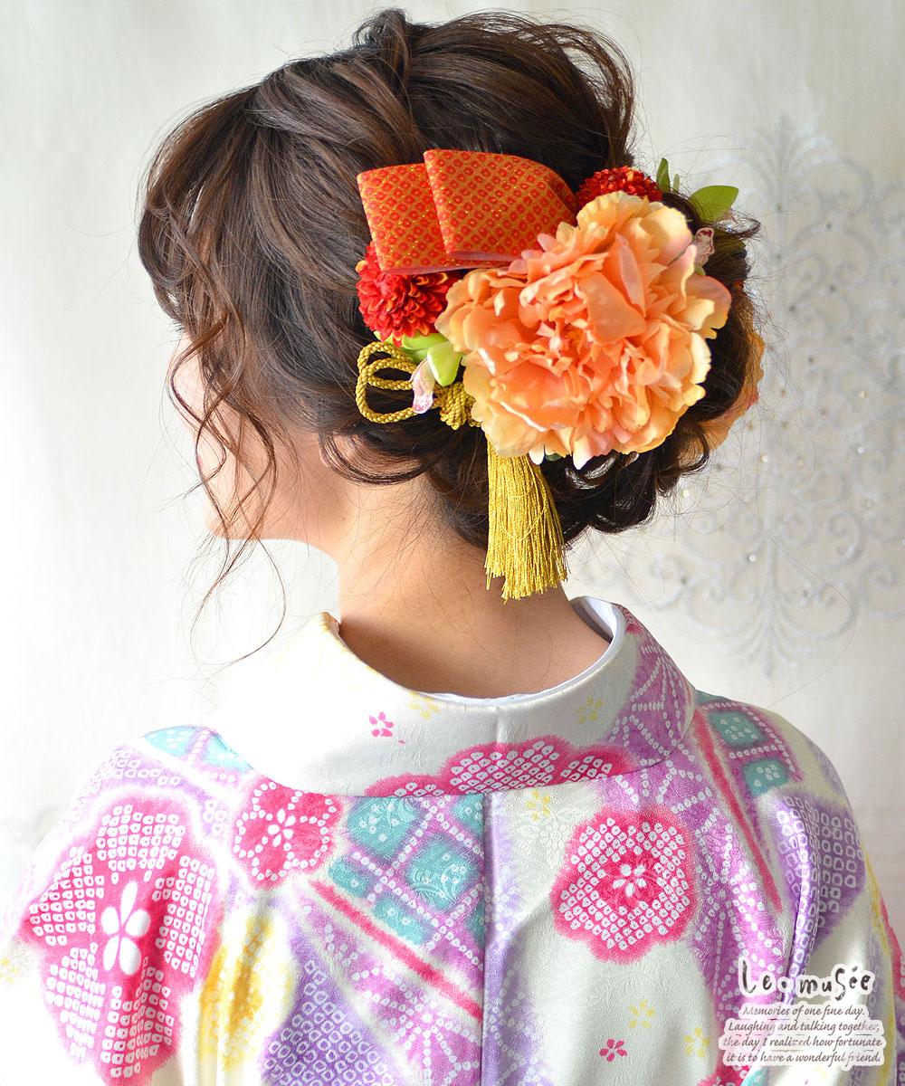 髪飾り【花】花天空そら