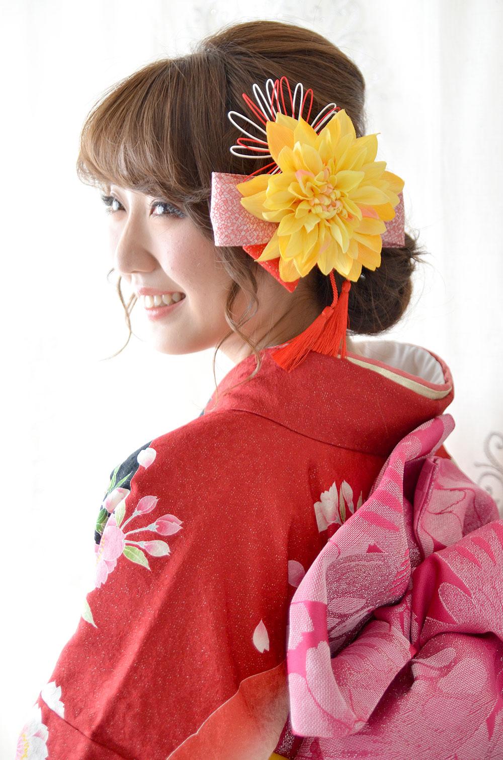 成人式 髪飾り【柚月 ゆずき】小春シリーズ