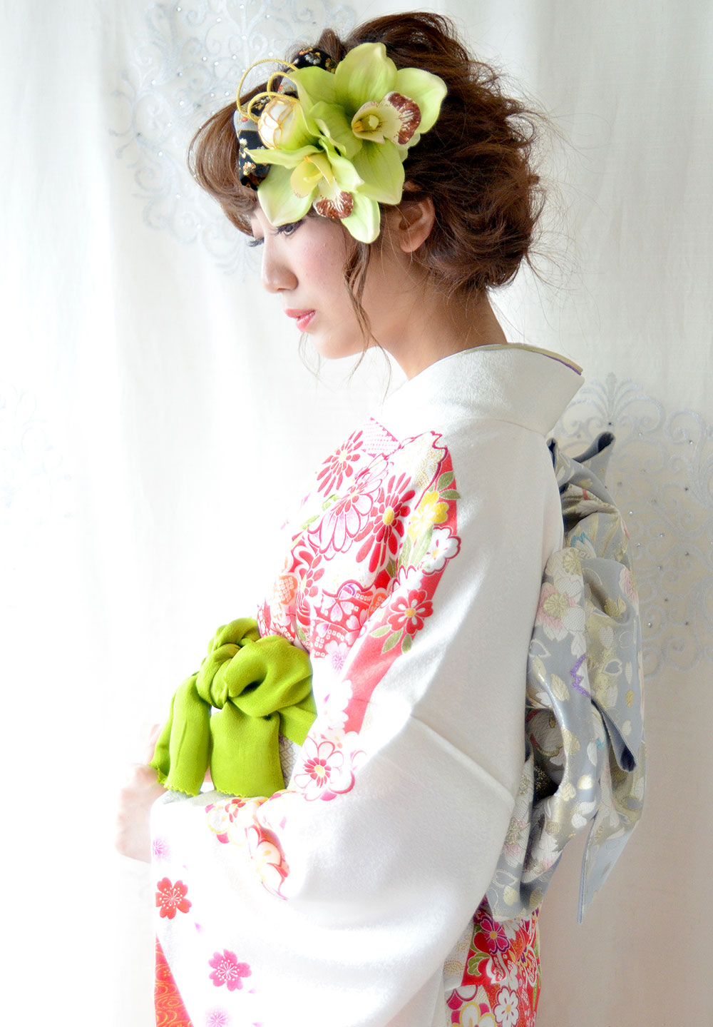 ヘッドドレス成人式 髪飾り【雅 みやび】小春シリーズ