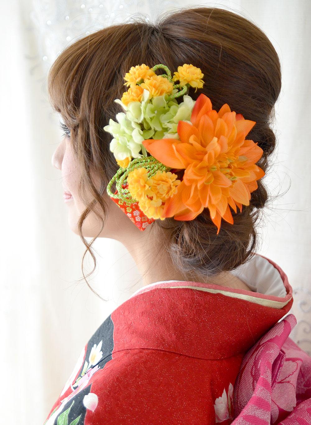 成人式 髪飾り【楓 かえで】小春シリーズ