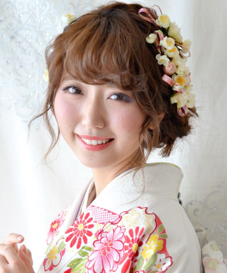 ヘッドドレス成人式 髪飾り【千代 ちよ】小春シリーズ