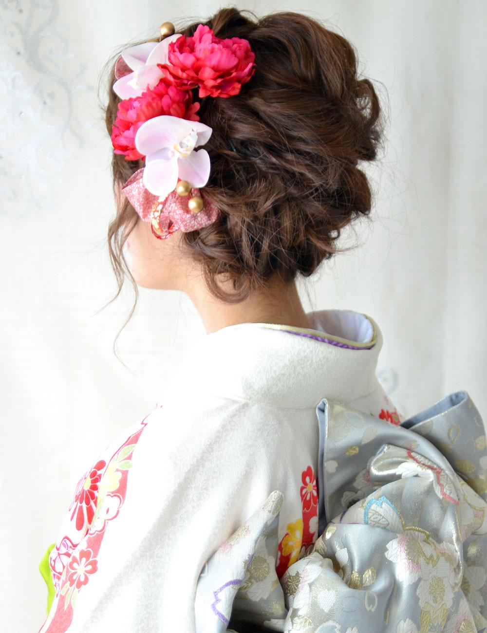 ヘッドドレス成人式 髪飾り【伊万里 いまり】小春シリーズ