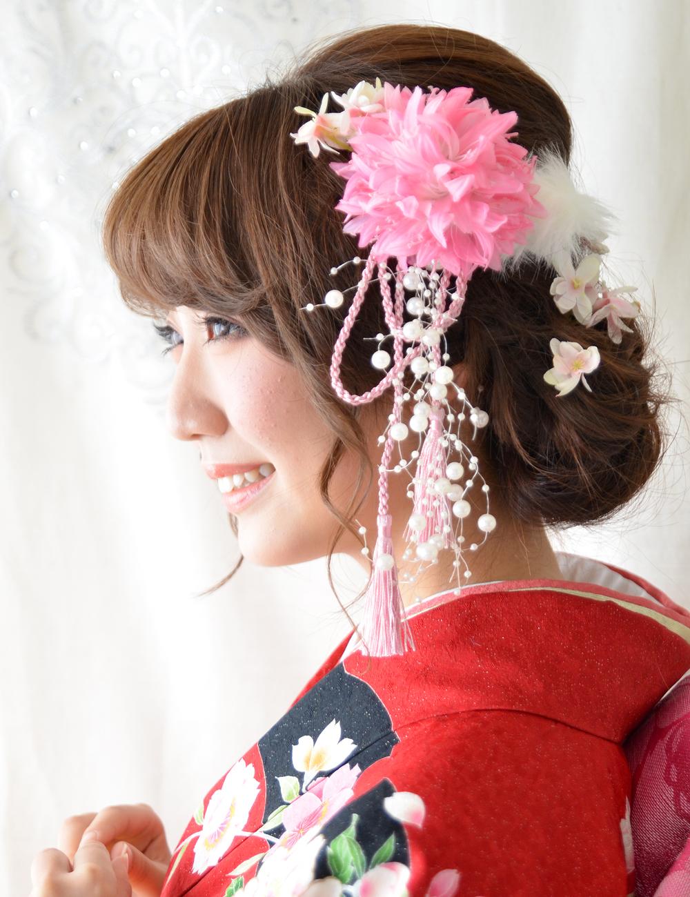 成人式 髪飾り【凜 りん】小春シリーズ