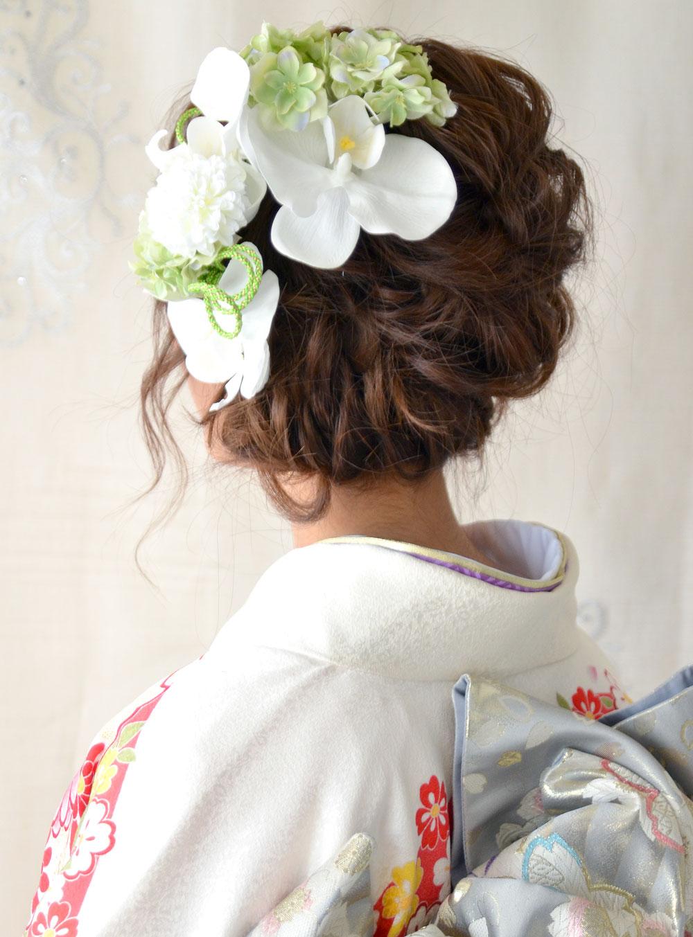 ヘッドドレス成人式 髪飾り【葉月 はづき】小春シリーズ