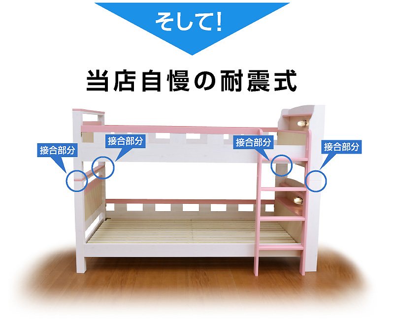 二段ベッド 2段ベッド フィアット3