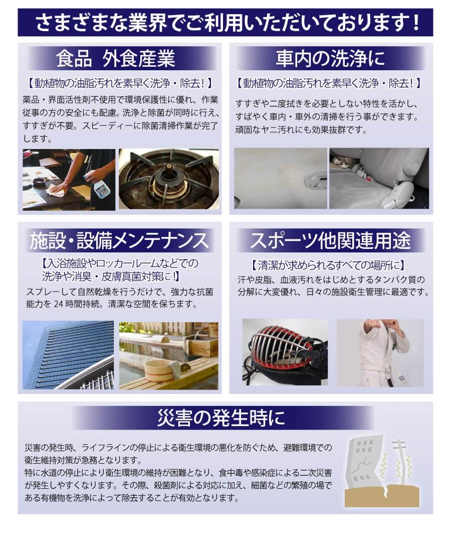 電解水クリーナー