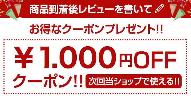今なら1,000円OFFクーポンプレゼント