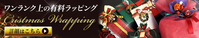 有料クリスマスラッピング