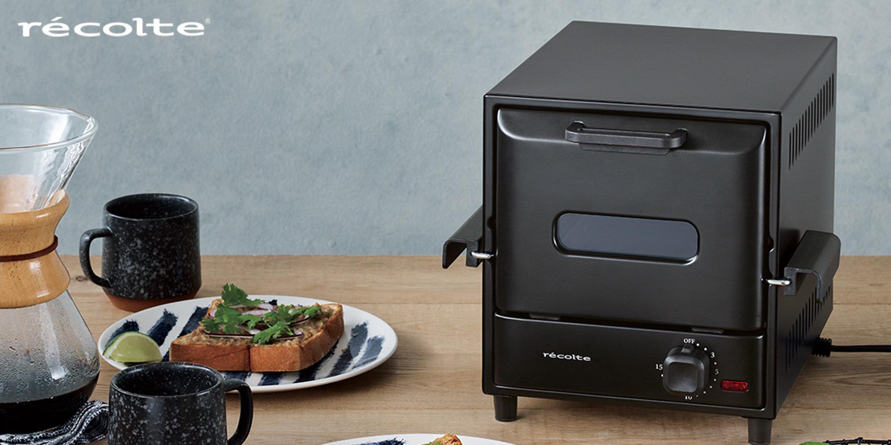 オーブントースター オーブン トースター おしゃれ かわいい デザイン家電 レコルト スライドラック オーブン デリカ