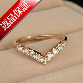 lilimia | Rakuten Global Market: V-shaped ring ring ...