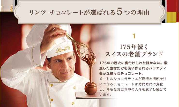 リンツ チョコレートが選ばれる5つの理由 175年続くスイスの老舗ブランド