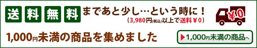 送料対策の買い合わせにおすすめ!1000円以下のお手頃商品