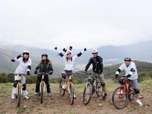 マウンテンバイク挑戦