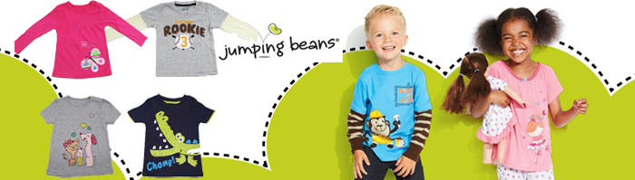 jumping beans  長袖 カットソー