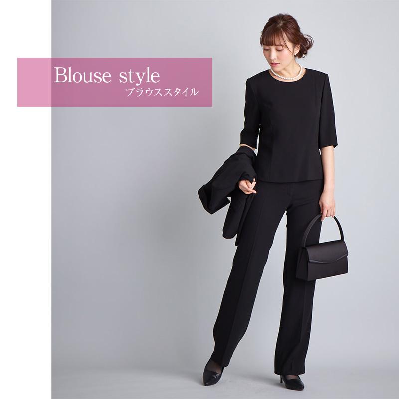 ブラックフォーマルアンサンブル(喪服 礼服)商品画像17