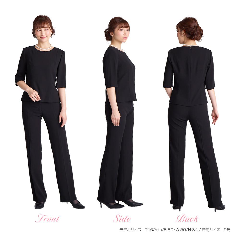ブラックフォーマルアンサンブル(喪服 礼服)商品画像20