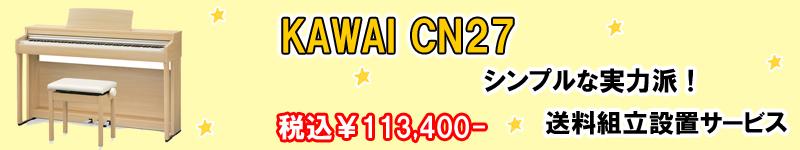 KAWAI カワイ CN27