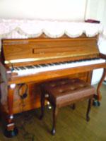 東洋ピアノV116W消音取付