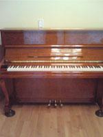東洋ピアノ ヴィエルジェ V116W