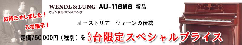 ウェンドル&ラング AU116WS