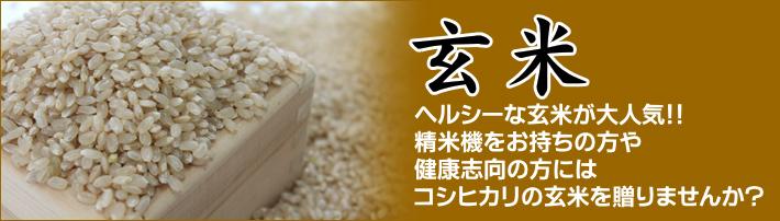 【玄米】ヘルシーな玄米が大人気!