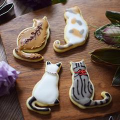 猫 クッキー抜き型