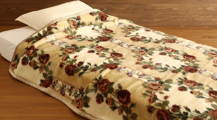 毛布 アクリル毛布-軽量毛布 ダブル 2882