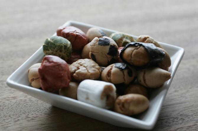 幻のミックス豆
