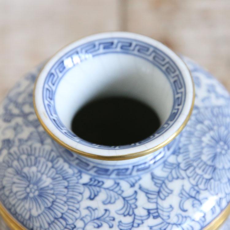 タイ雑貨 花瓶 フラワーベース