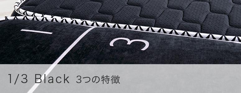 1/3 Black 3つの特徴